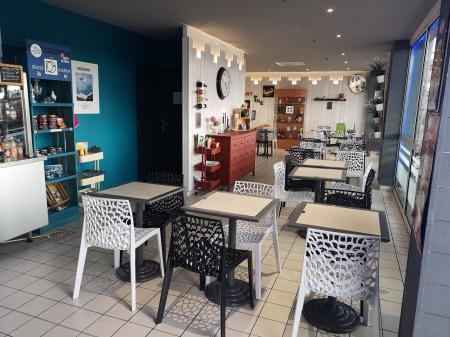 Grigno-the (Snack/ salon de thé) 100m² - A VENDRE - Grigno-the snack c.c intermarché - DOLUS D OLERON (17550)