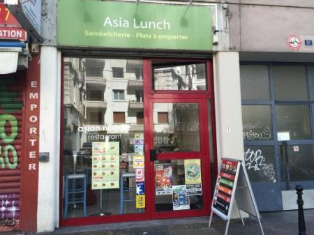 Asia Lunch (Restaurant ) 18m² - A VENDRE - 97, cours berriat  - grenoble  (38100)