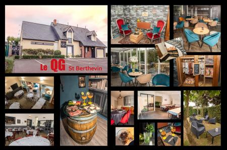 Le QG (Restauration) 550m² - A VENDRE - 71 avenue de paris - Saint Berthevin (53940)